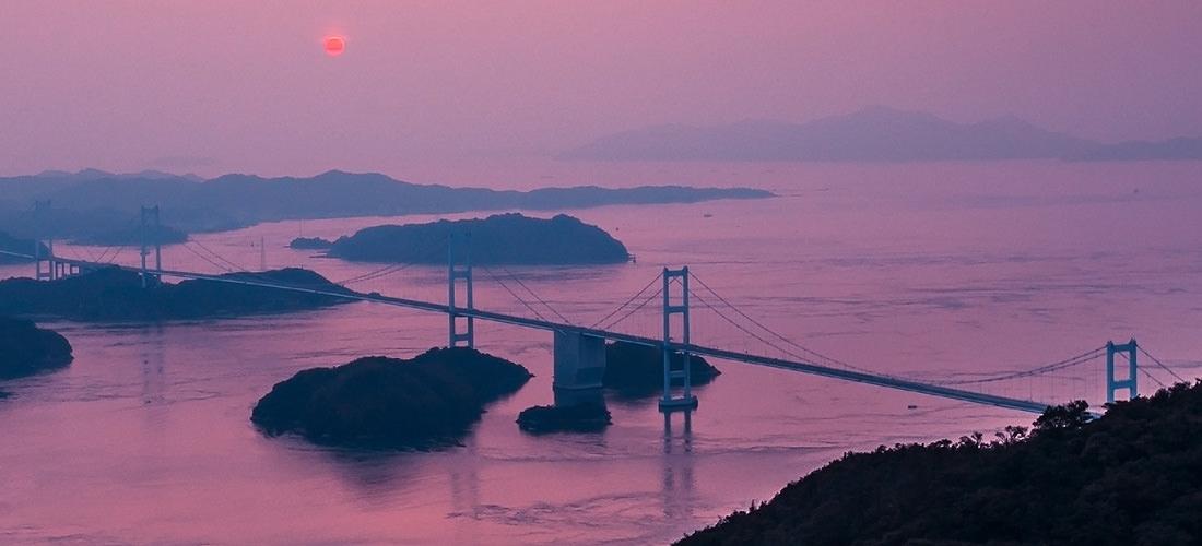 [しまなみ島波海道]瀬戸内海跳島之旅